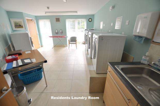 Residents Laundry Room