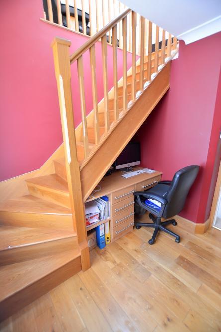 Study/stairs