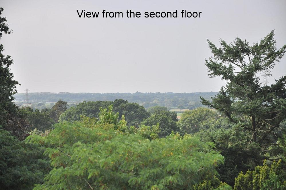 View from second floor