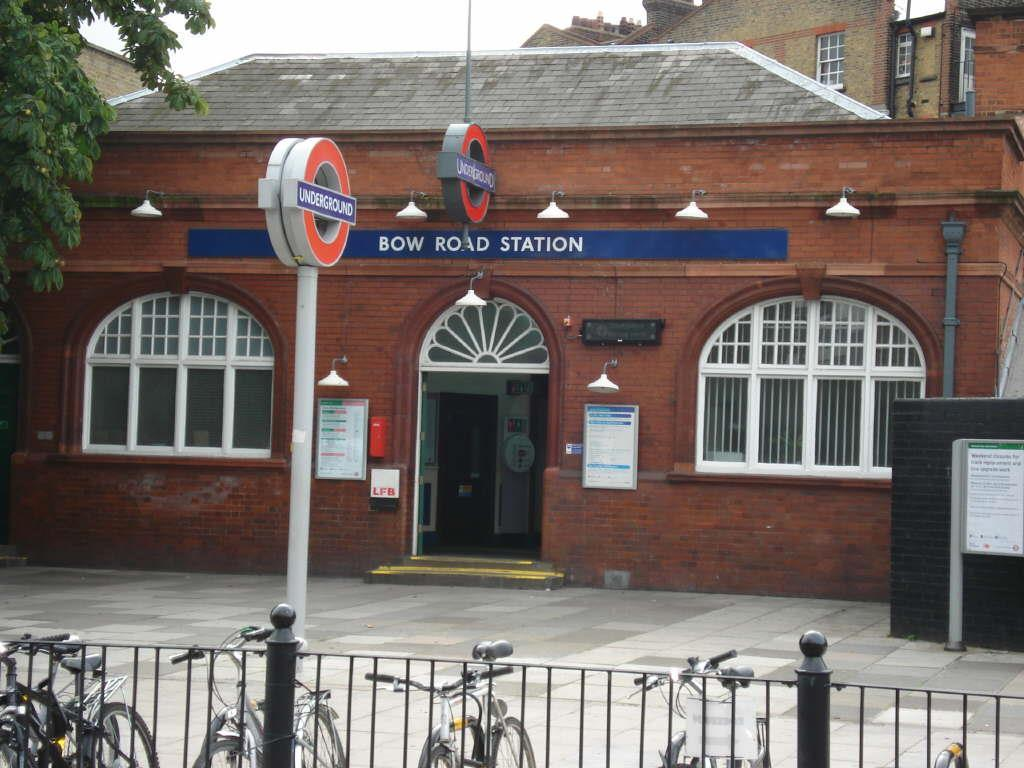 BOW ROAD TUBE STATIO