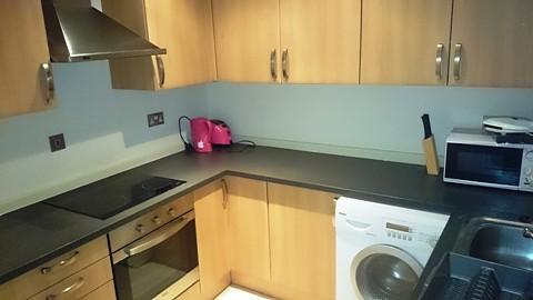 Kitchen with Dishwas