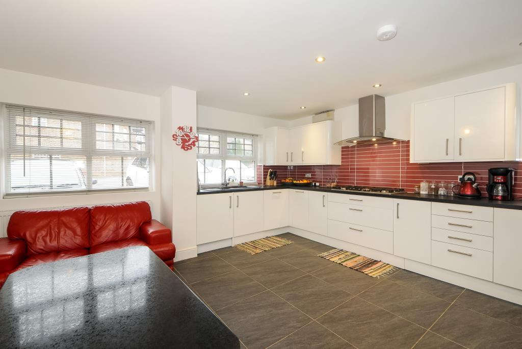 Kitchen with Dining & Living Area