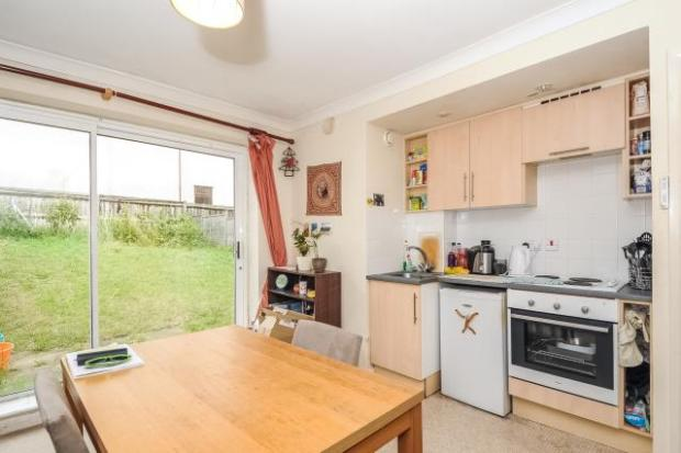 Kitchen/Dining Area out to Private Garden