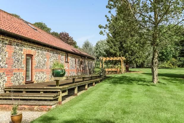 External view and garden
