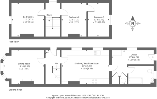 Floor plan 54 Greenham Road