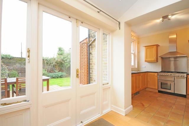 View to Garden+Kitchen