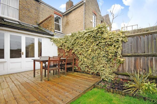 Rear of House-Decking
