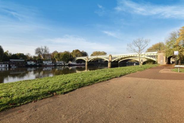 Exterior Pat, Bridge & River