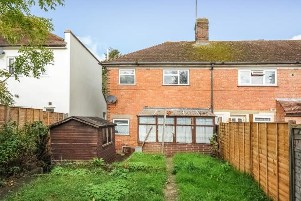 ... end of terrace house for sale in Wolsey Road, North Oxford, OX2