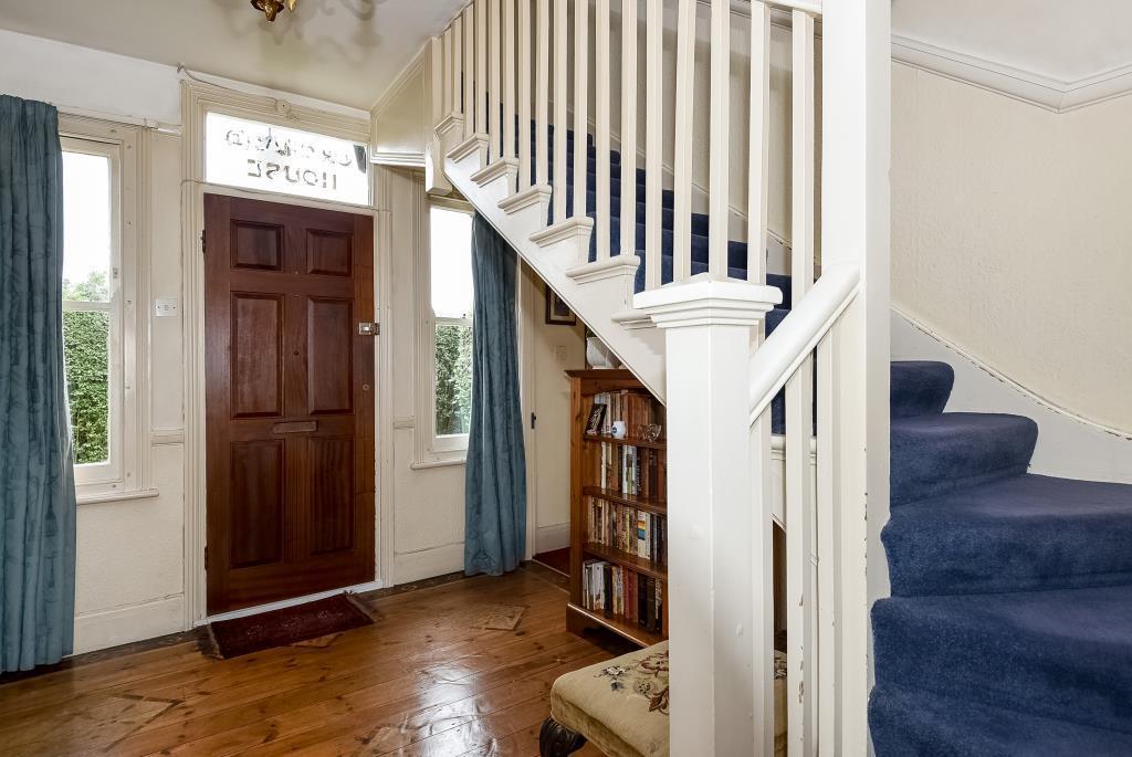 Hallway Facing Front Door