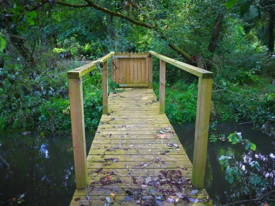 Wooden Access Walkway/Bridge