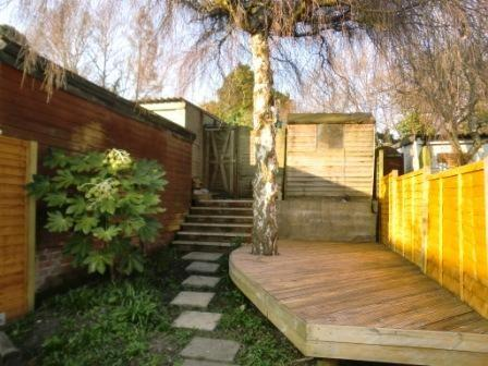 Rear Garden With Decking