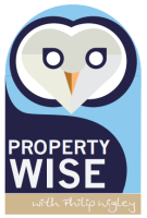 PropertyWise with Philip Wigley,   logo