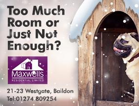 Get brand editions for Maxwells Residential Ltd, Baildon