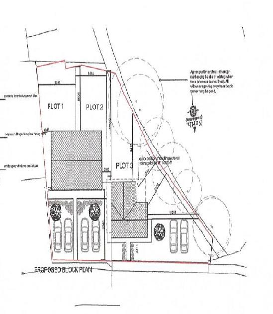 proposed block plan