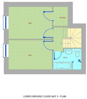 Floorplan Lower GF