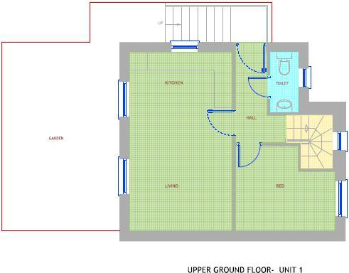 Floorplan Upper GF