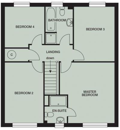 Floorplan Upper