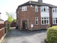 3 bed semi detached property in The Plaisaunce, Newcastle
