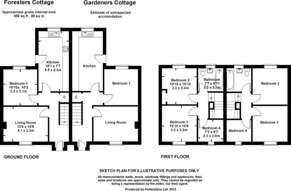 Cottage Floorplans