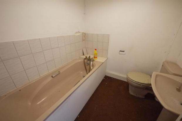 Tiled Bathroom:-