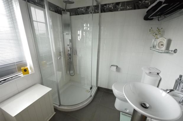 Tiled Shower Room:-