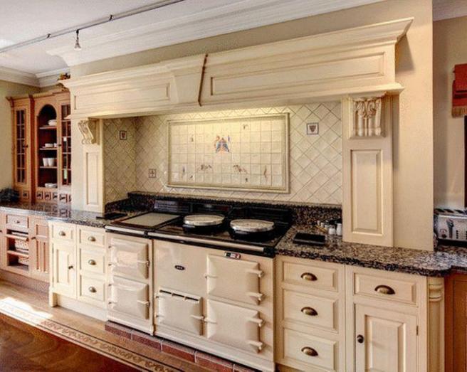 Farmhouse Kitchen Aga Design Ideas Photos Inspiration
