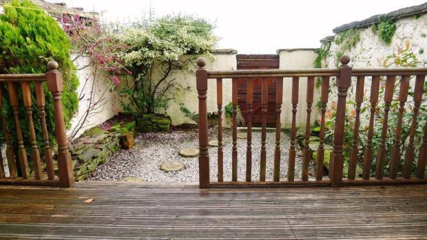 Rear Garden/Deck