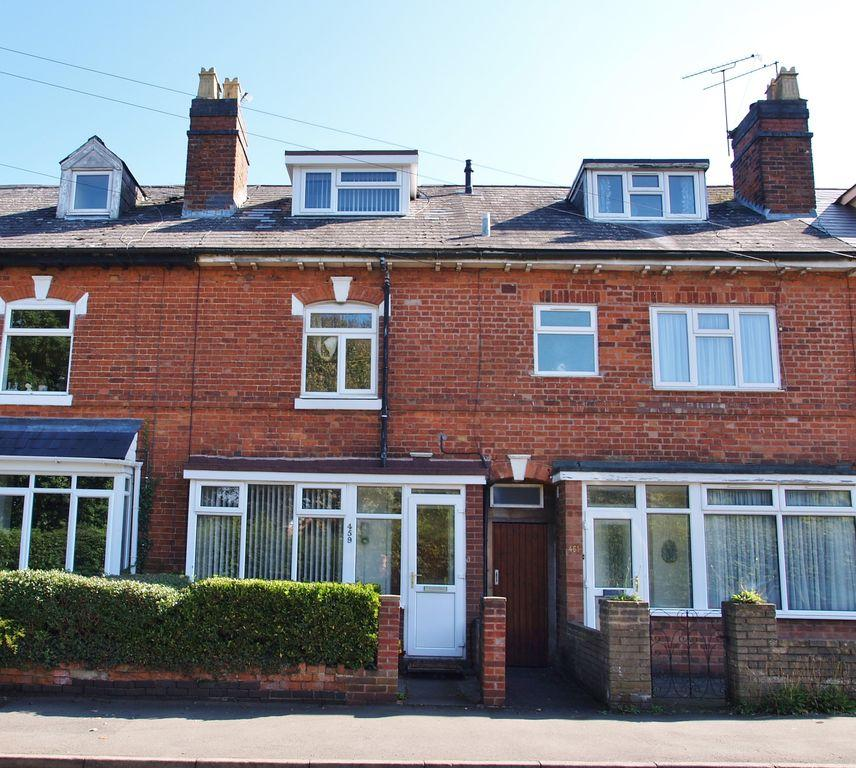 2 Bedroom Terraced House For Sale In Evesham Road, Crabbs