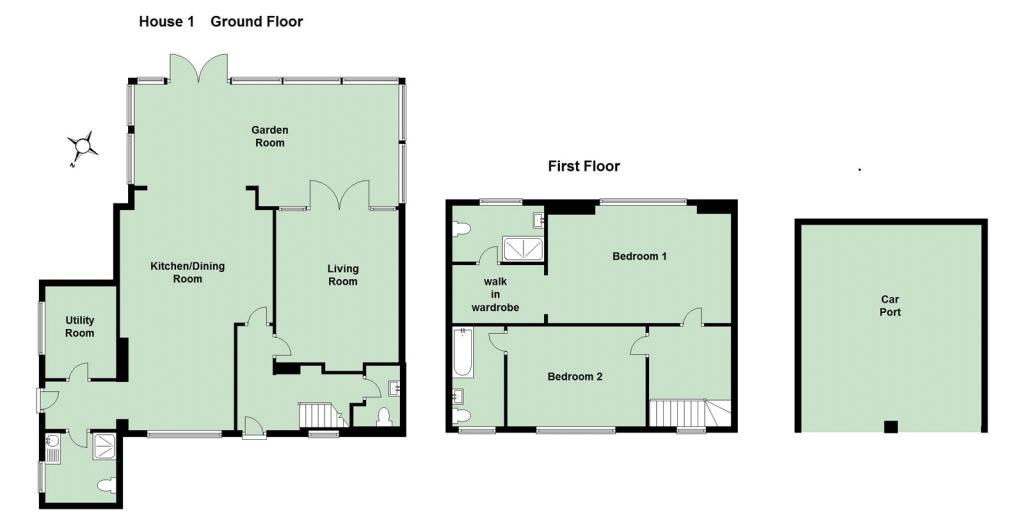 House One Floorplan