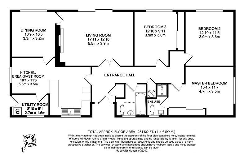 3 bedroom detached bungalow for sale in dalewood for Chalet bungalow floor plans uk