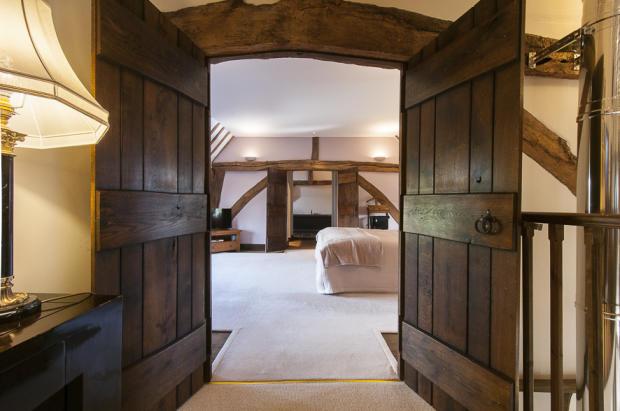 Into Master Bedroom