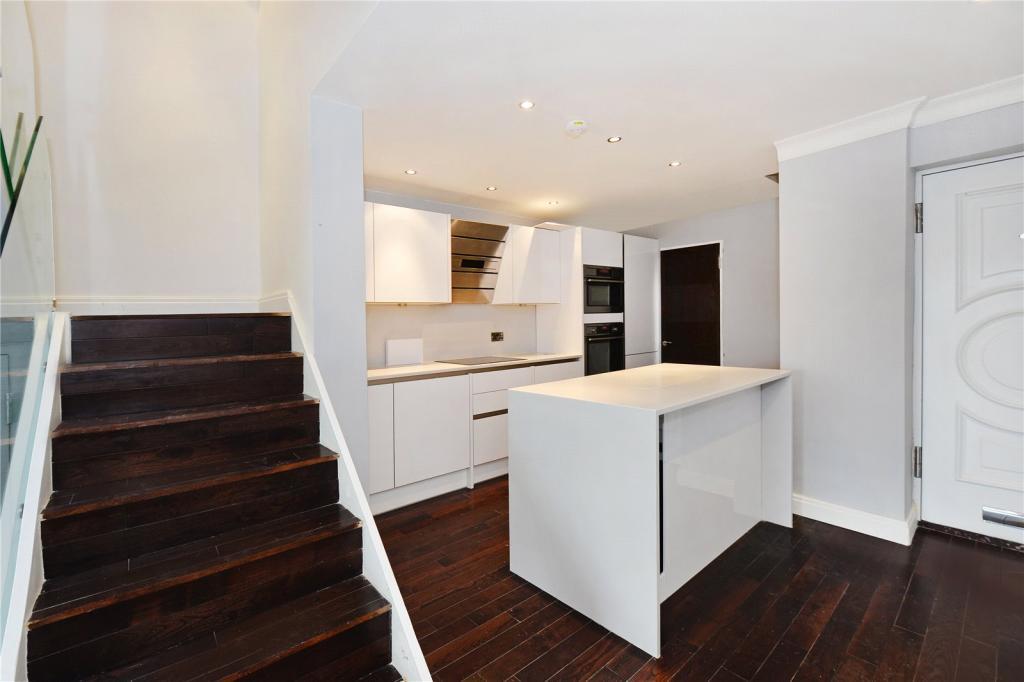 Kitchen / Staircase