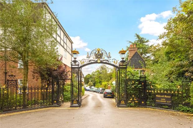 Wildcroft Manor Gate