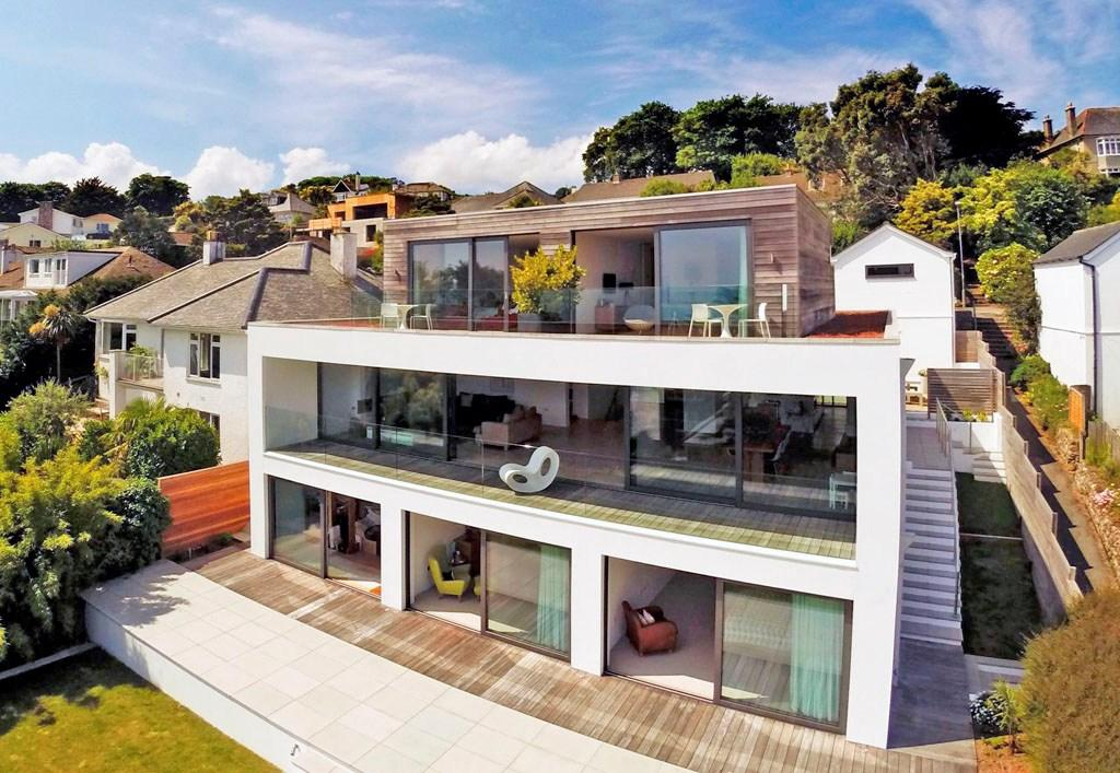 5 bedroom detached house for sale in venton road st ives for Modern house uk for sale
