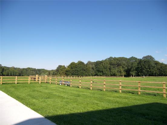 View From Barn