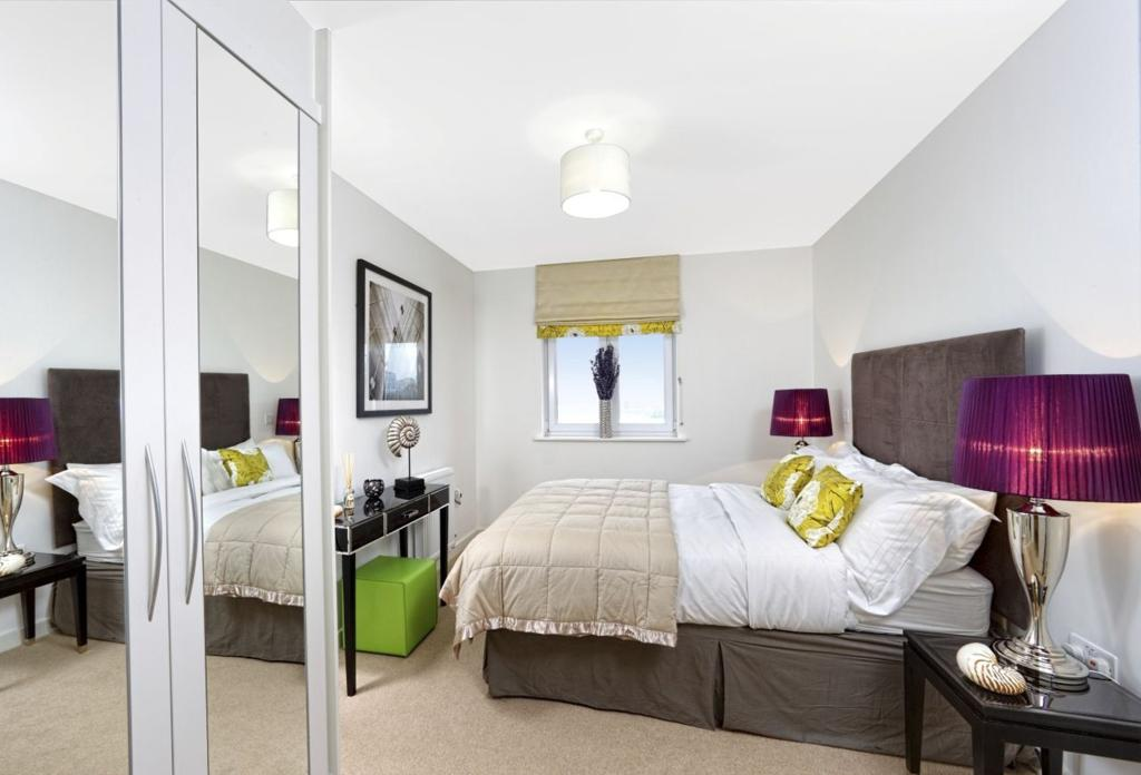 White Sand, Camber, Ward Homes, typical bedroom