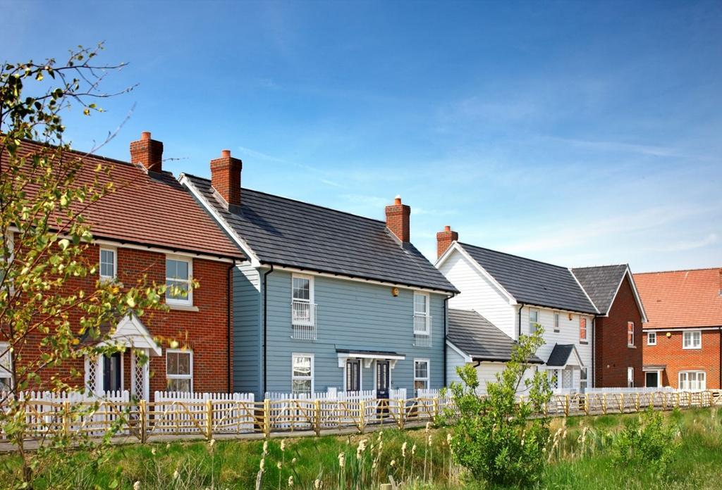 House types at White Sand near Camber beach