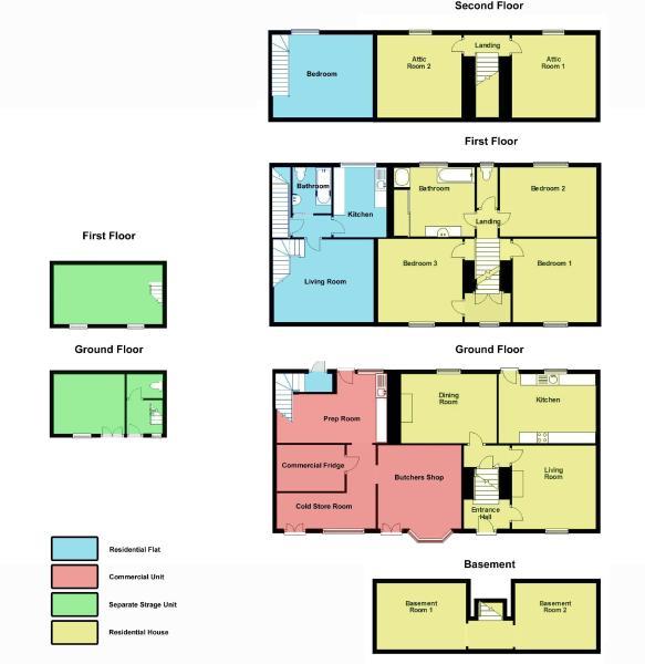 Floor Plan - Entire Floor Plan