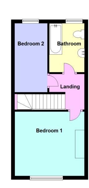 Floor plan - 84 First Floor.