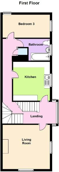 Floor Plan - First Floor 167a