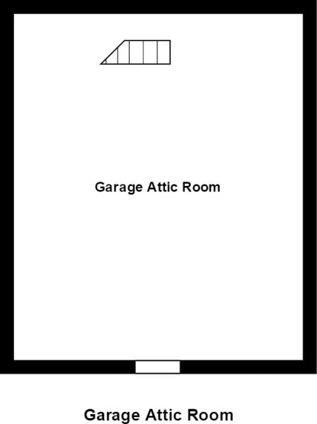 Garage Attic Room