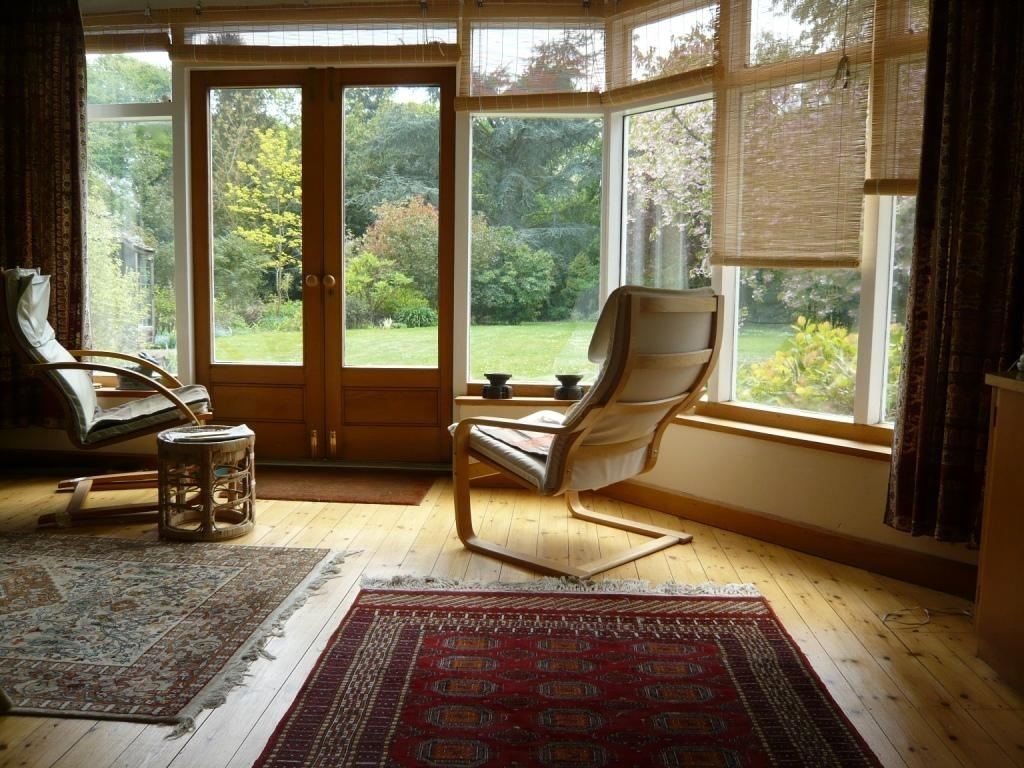 Sun room and office