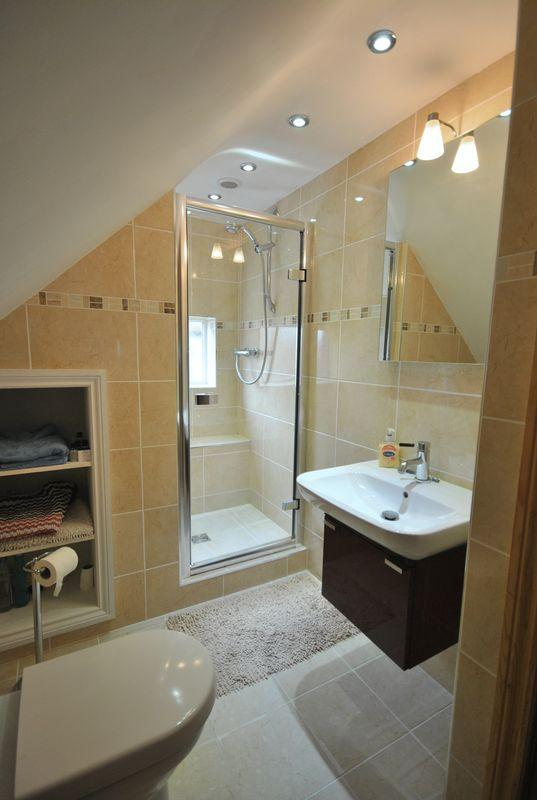shower room to...