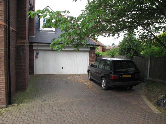 Double Garage & Driveway