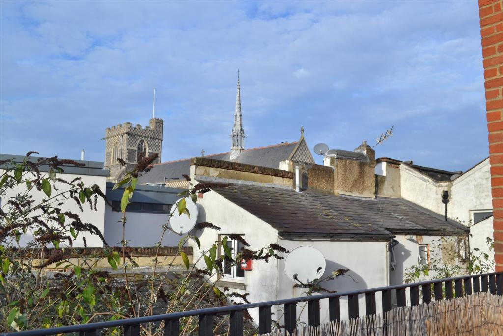 Church View from Roof Terrace