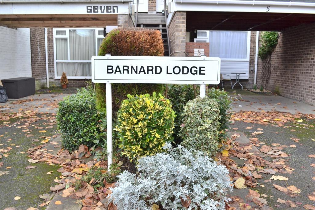 Barnard Lodge Sign
