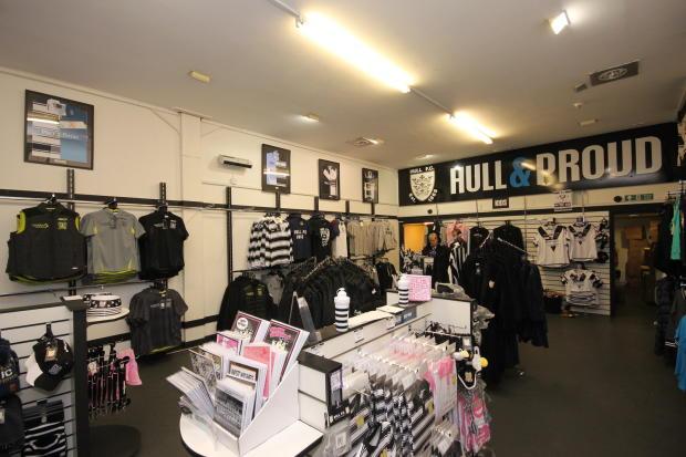 HullFC Shopfloor