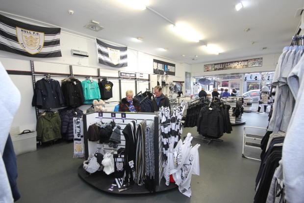 Hull FC Shopfloor