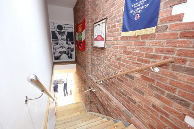 Hull KR Stairs